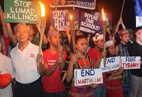 New concerns over human rights in Philippines