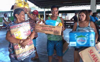 United Methodists in Philippines help volcano evacuees